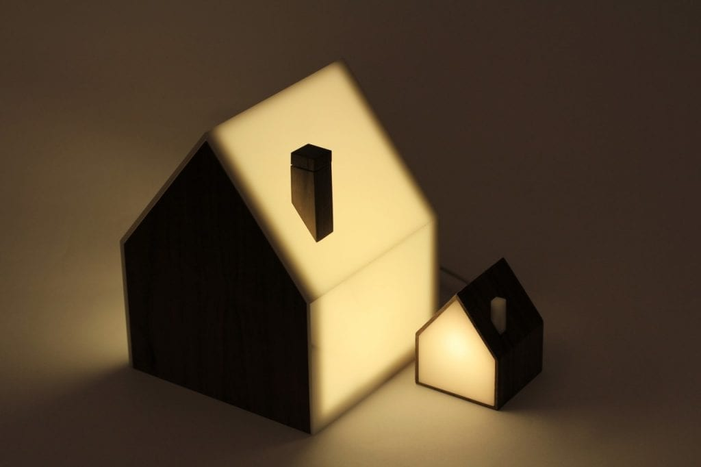 Connected lamp